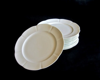 Vintage Block Windsor Bone China White NWT