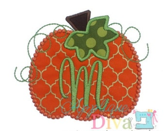 Halloween Dot Stitch Pumpkin Digital Embroidery Design Machine Applique