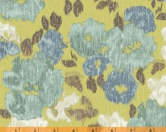 Ibiza - Floral Celery by Rosemarie Lavin from Windham Fabrics