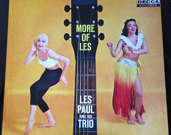 Les Paul More of Les Exotica Lp Art