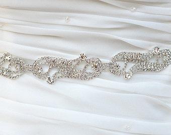 ALENA swarovski Wedding bridal crystal sash belt