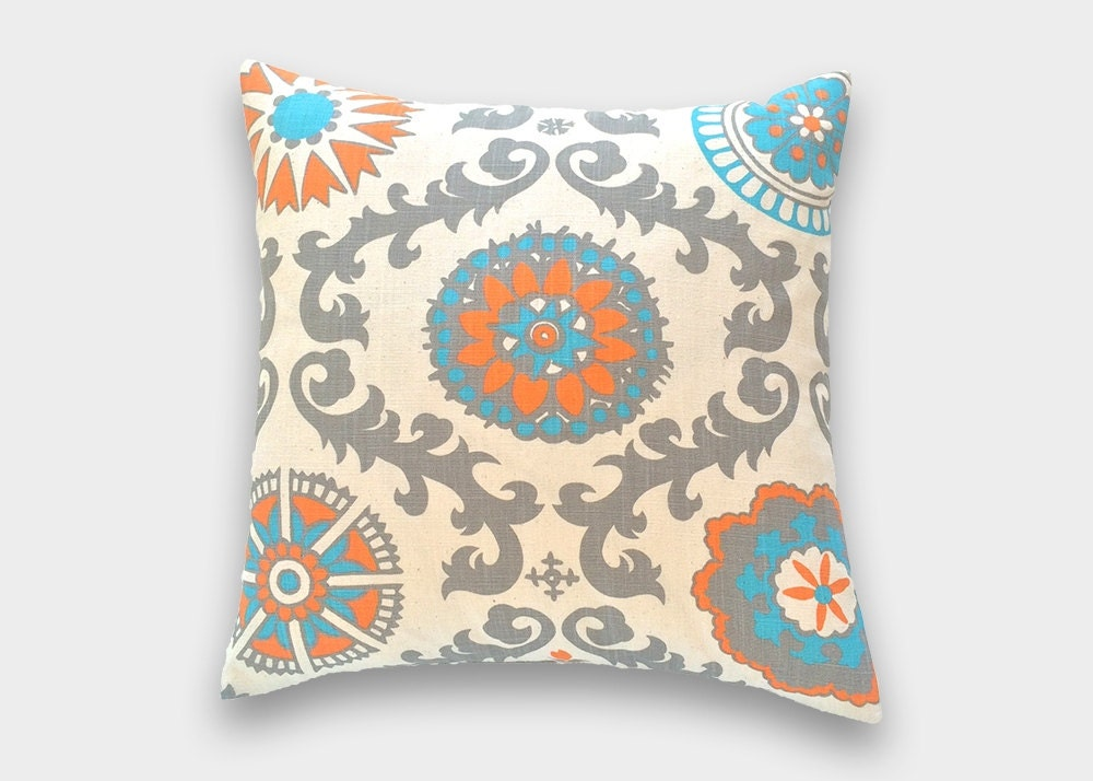 Throw Pillows In Clearance : CLEARANCE Decorative Throw Pillow Cover. Pick a Size. Mandarin