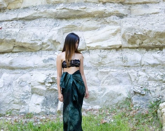 Into the Woods Sarong >> Boho, summer festival, maxi skirt, cover up