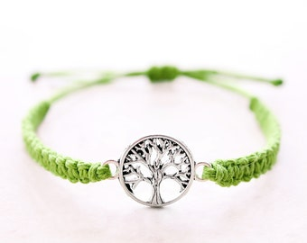 Tree of Life Bracelet - Hemp Bracelet - Hemp Jewelry