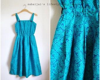 Vintage 1960s Silk Dress