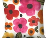Bright Floral Decorative Pillow available in three sizes