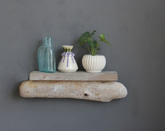 Natural Driftwood Shelf // Size SMALL