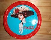 Vintage Shabby Chic Coca Cola Tray