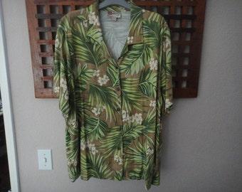 The Hawaiian Original Hilo Hatties Hawaiian shirt size XXL