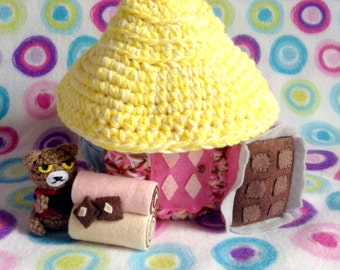 Amigurumi Animal Crossing Sweets House Playset