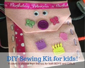 Sew Kids Learn to Sew Sewing Kits for Kids- Kids DIY Satchel Handmade Sewing Kit