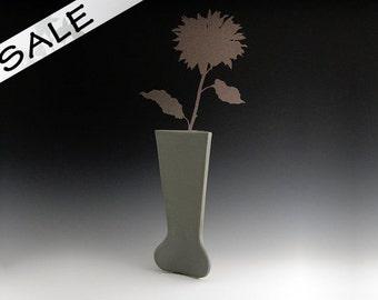Flower Vase: 3SS-001 Matte Lite Grey