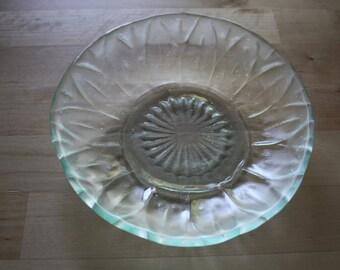 Set of 2 Recycled Glass Mandala Bowls