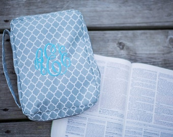 Monogram Bible Cover