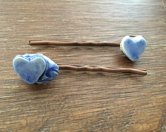 Blue Heart Bobby 2 Pack