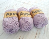 Lavender Bamboo yarn,Each skein: 100 gr, knitting yarn