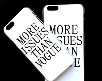 Iphone 6 and 6 plus Magazine Vogue Fashion phone case cover