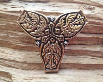 Viking era trefoil brooch v3 - Sold individually