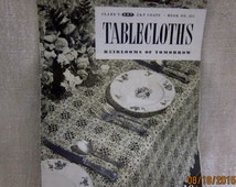 Vintage 1930's Crochet Tablecloth Patterns Booklet