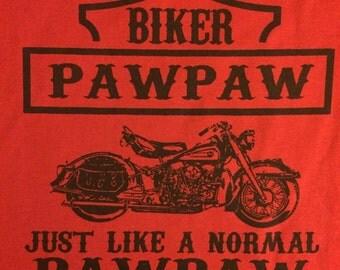 Biker Pawpaw t-shirt