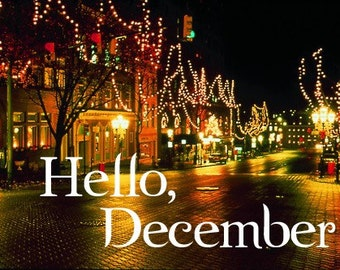 December outlook reading