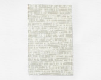 Neutral Tea Towel - Modern Kitchen Towel - Taupe Dish Towel - Host or Hostess Gift - Gift for Wife - Gift for Baker - Housewarming Gift