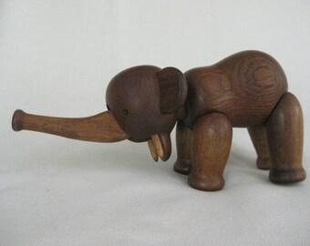 Vintage Kay Bojesen Wooden Elephant