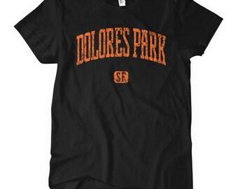 Women's Dolores Park San Francisco Tee - Ladies' Dolores Park T-shirt - S M L XL 2x - 4 Colors