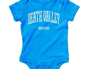 Baby Death Valley California Romper - Infant One Piece - NB 6m 12m 18m 24m - Death Valley Baby, California Baby - 4 Colors