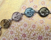 Antique Button Bracelet, ...