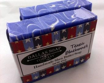 Texas Bluebonnet Soap