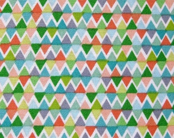 Triangles cotton fabric sweet tea anthology 1 Yard