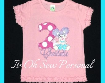 Abby Cadabby SHIRT ONLY