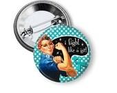 Ovarian cancer awareness pinback button badge 2