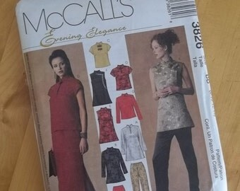 Uncut McCalls Sewing Pattern 3826 - Misses/Misses Petite Tops, Pants and Skirt - Size 8-14