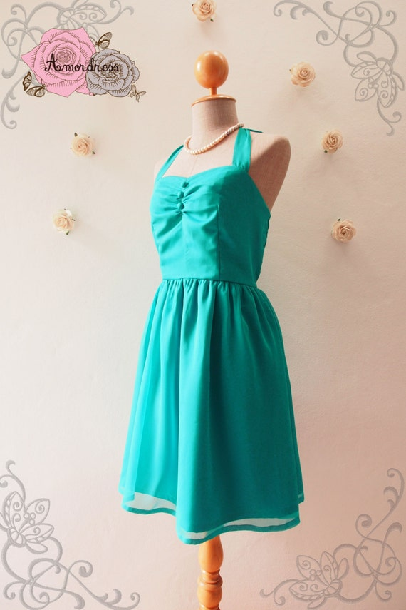 Items similar to sale jade green dress jade party dress for Jade green wedding dresses