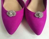 Wedding Shoe Clips ~ Bridal Shoe Clips, Sandal clips, Weddings Accessories, Shoe clips, Shoe Accessories, Rhinestone shoe clips