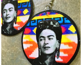 Queen Frida earrings