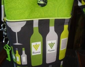 Cross Body Bag of Bottles! ---OOAK for sure
