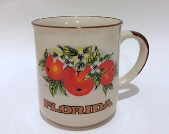 Florida Citrus Orange Coffee or Tea Mug
