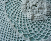 Antique Doily - Pillow Cover Doily - Square Doily - Hand Crocheted Doily - Vintage Doily - Intricate Doily