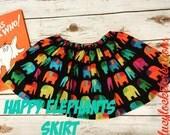 Happy Elephant Skirt