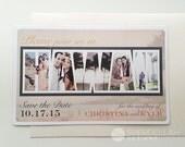 Destination Wedding: Vintage Travel Theme Hawaii Save the Date Magnets - Set of 50