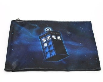 Doctor Who TARDIS pouch or coin purse