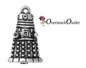 Dalek Inspired Charm, (2) Doctor Who inspired, One sided AM305