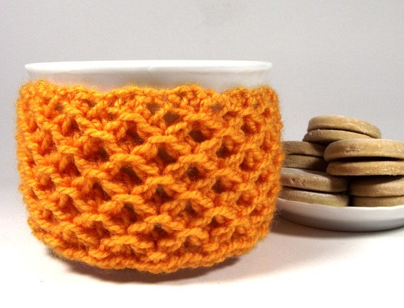 KNITTING PATTERN Cozy Cup Coffee Sweet Morning Knit Mug