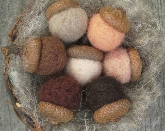 Needle Felting Wool -Fleshtones Sampler -Wet Felting Wool-Doll Wool