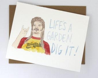 Joe Dirt // Dig It! Card