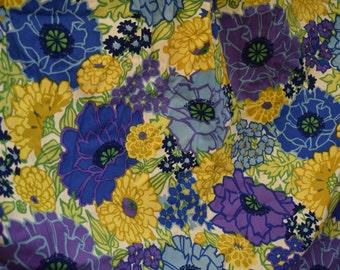 FOUR curtains Mid Century Modern Curtain Set Floral