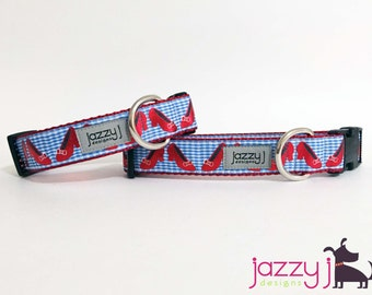Wizard of Oz Dorothy Ruby Slippers Dog Collar